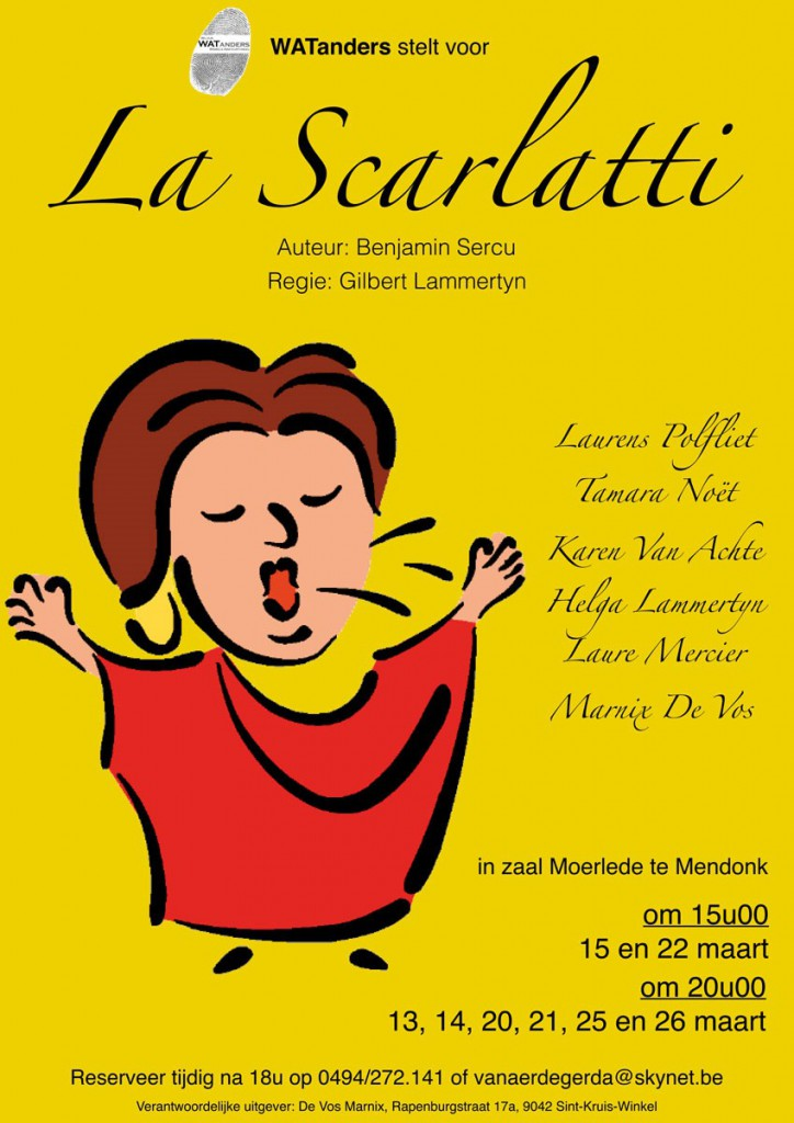 affiche la scarlatti